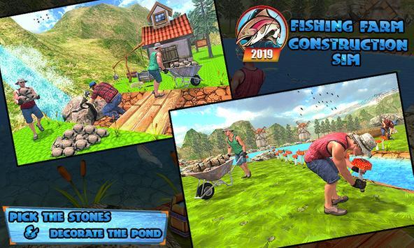 Fishing Farm Construction Sim 2019 ScreenShot1