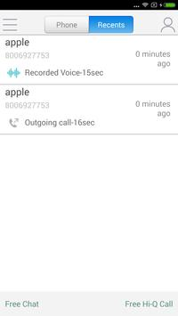 WePhone - free phone calls and cheap calls ScreenShot1