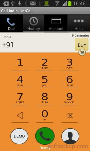 Call India - IntCall ScreenShot1