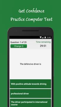 Saudi Driving License Test - Dallah ScreenShot1