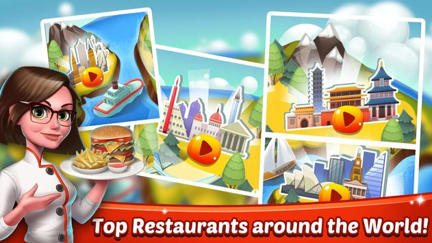 Cooking World - Chef Food Games and Restaurant Fever