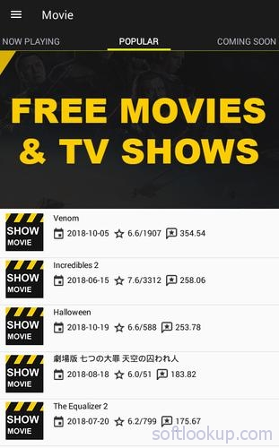 Free Movies and Shows ScreenShot1