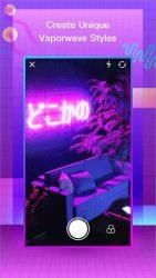 VaporCam-Glitch, Aesthetic, Vaporwave Photo Editor