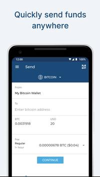 Blockchain Wallet. Bitcoin, Bitcoin Cash, Ethereum