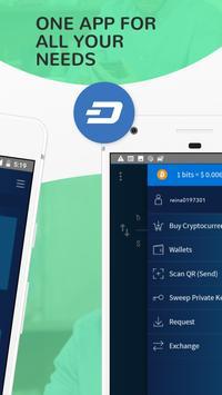 Edge - Bitcoin, Ethereum, Monero, Ripple Wallet ScreenShot1