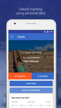 HIIT and Cardio Workout by Fitify ScreenShot1