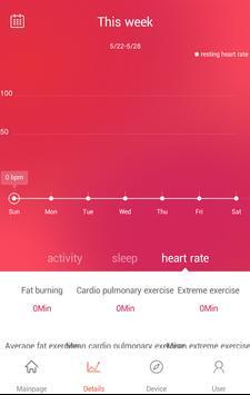 Veryfit for heart rate ScreenShot1