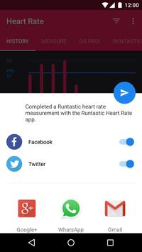 Runtastic Heart Rate Monitor and Pulse Checker ScreenShot1