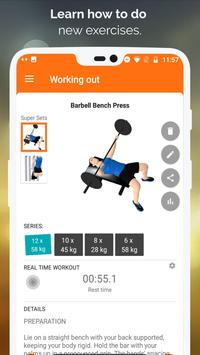 Gym WP - Dumbbell, Barbell and Supersets Workouts ScreenShot1