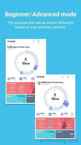LG Health ScreenShot1