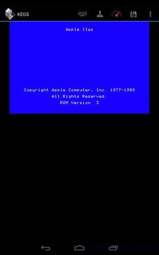 KEGS IIgs Emulator