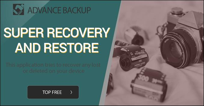 Backup Deleted Photos Restore Videos And More