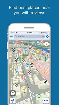 Free GPS, Maps, Navigation and Directions ScreenShot1