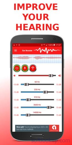 Ear Booster - Better Hearing: Mobile Hearing Aid