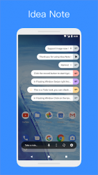 Idea Note - Floating Note, Voice Note, Voice Memo ScreenShot1