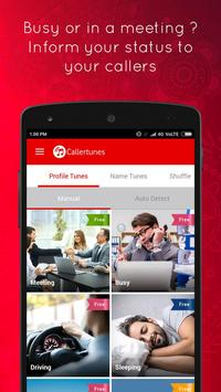 Vodafone Callertunes - Latest Songs and Name Tunes ScreenShot1