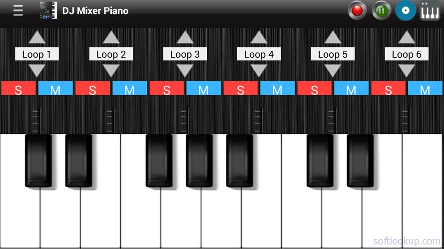 Professional Piano and DJ Mixer ScreenShot1