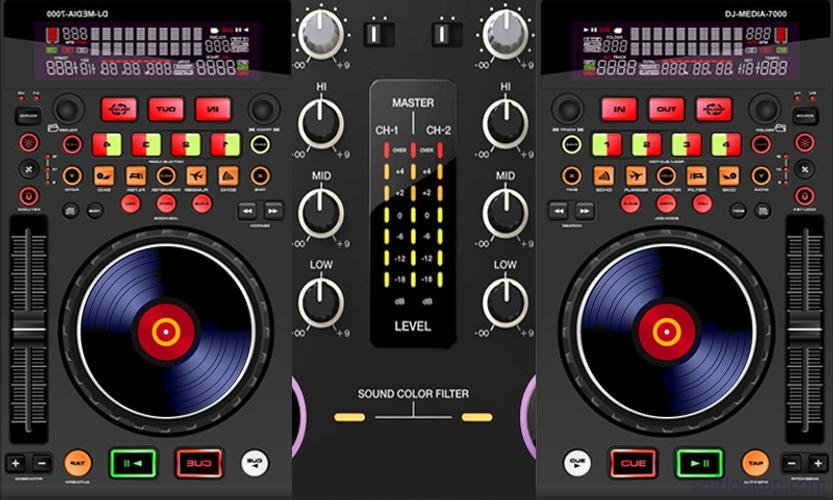 Virtual DJ MP3 Mixer ScreenShot1