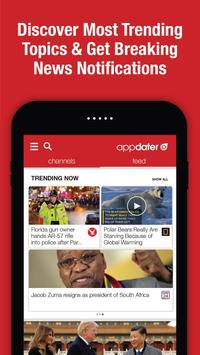 appdater - Breaking and Trending News ScreenShot1
