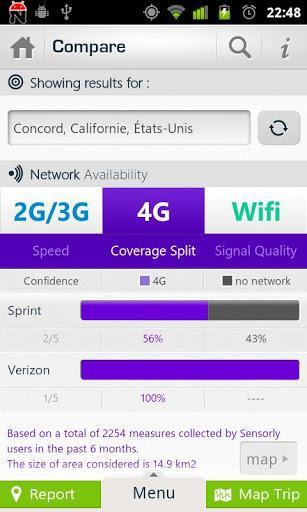 4G,CDMA,GSM,WIFI Coverage Maps