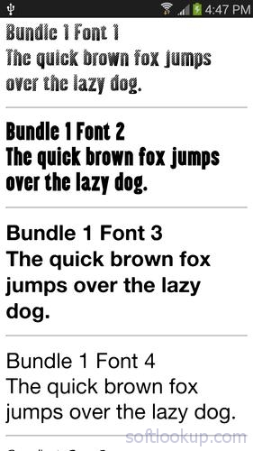 Fonts for Samsung 1000+ 2 0 1 for Android - APK Download