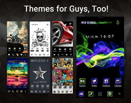Wallpaper Theme +HOME Launcher ScreenShot1