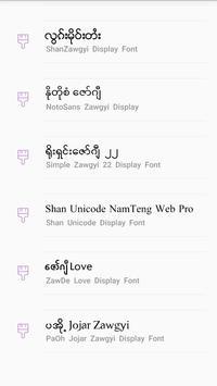 TTA SAM Myanmar Font 8