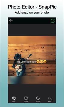 Photo Editor - SnapPic With Beauty Selfie Camera ScreenShot1