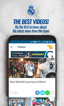 Real Madrid App ScreenShot1