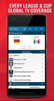 Live Soccer TV - Scores and Stats ScreenShot1