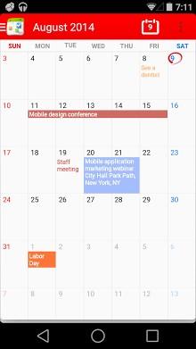 Calendar + Free