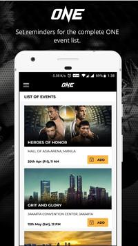 ONE Championship ScreenShot1
