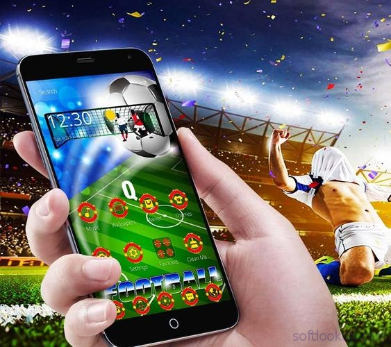 Football Manchester Launcher Theme