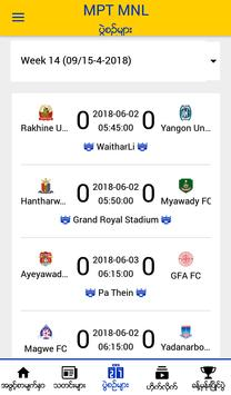 MPT MNL - Myanmar National League Official App