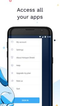 Hotspot Shield Free VPN Proxy and Wi-Fi Security ScreenShot1