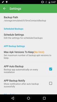Super Backup and Restore ScreenShot1