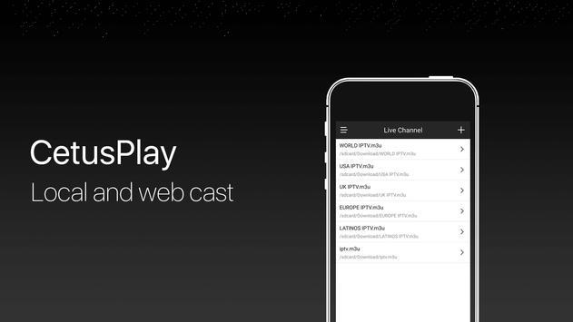 CetusPlay - TV Remote Server Receiver