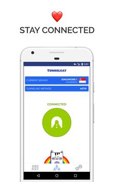 TunnelCat VPN ScreenShot1