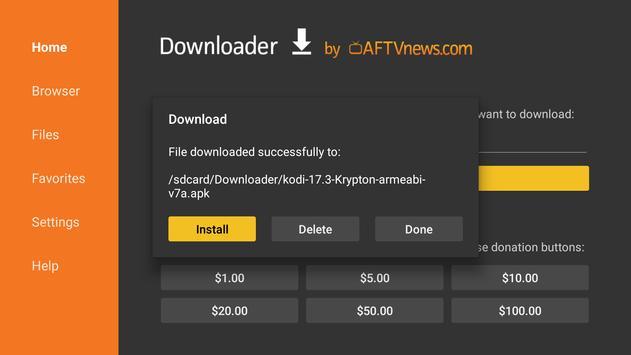 Downloader by AFTVnews