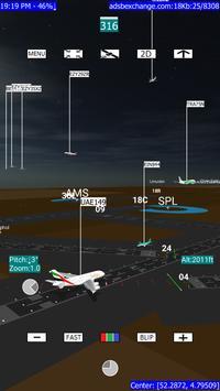 ADSB Flight Tracker ScreenShot1