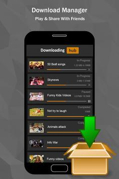Video Downloader Hub : Free Video Download 2 3 2 Free for Android