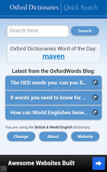 Oxford Dictionaries - Search