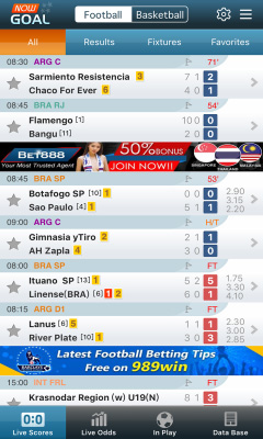 Nowgoal Livescore Odds for Android ScreenShot1