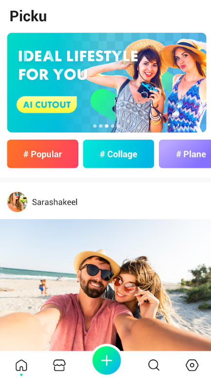 PickU - Cutout & Photo Editor