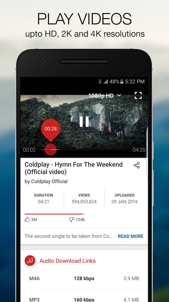Y2mmate | Free Youtube Video and Music Downloader