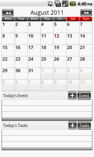 Free Download - Calendar One - Simple Calendar APK