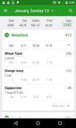 Calorie Counter by FatSecret ScreenShot1