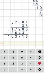 Division calculator ScreenShot1