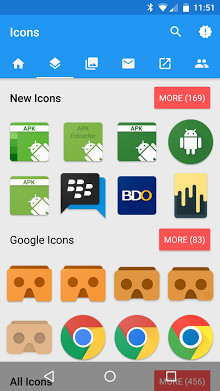 MaterialOS Icon Pack for Android - APK Download