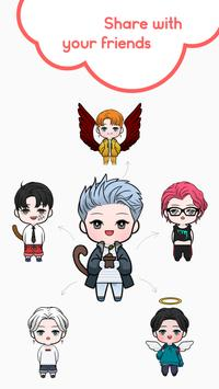 Oppa Doll Maker - iDol Emoji and Sticker